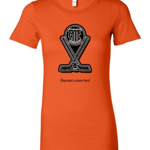 womens hockey shirts orange