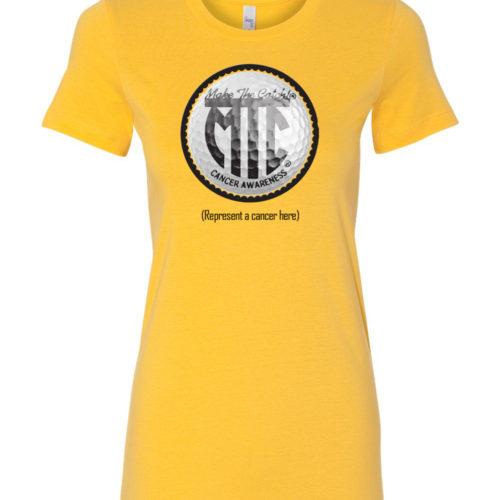 womens shirts yellow golf
